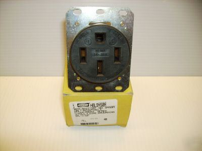 Hubbell receptacle HBL9450A 50A 125/250 v 14-50R 9450A