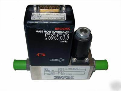 Mass flow controller - brooks - 5850C - gas: BC13
