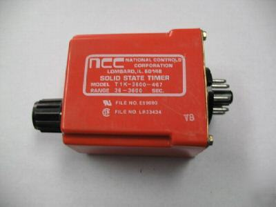 Ncc T1K-3600-467 solid state timer