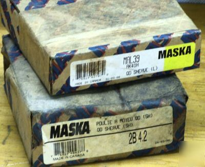 New 7PC lot maska bushings & sheaves nice