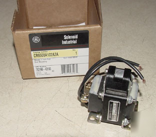 New ge industrial solenoid CR9500A102A2A in box