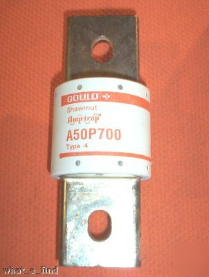 New shawmut A50P700-4 semiconductor fuse A50P 700