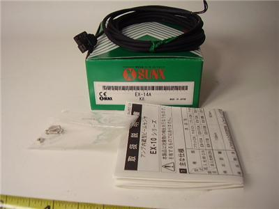 New sunx photoelectric sensor w/built in amp ex-14A