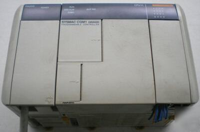 Omron sysmac plc CQM1-CPU11 & power supply PA203