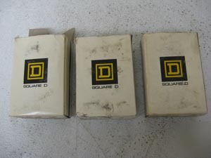 Square d position switch AW46 lot of 3