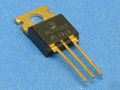 Voltage reg ** MC7915 ct ** - 5V, 1A ** cross to NTE969