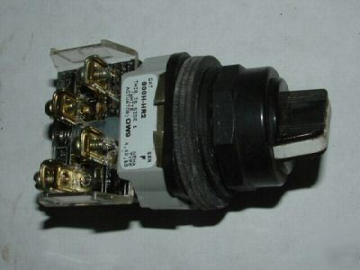 Allen-bradley 800H-HR2 2-pos rotary selector switch lnc