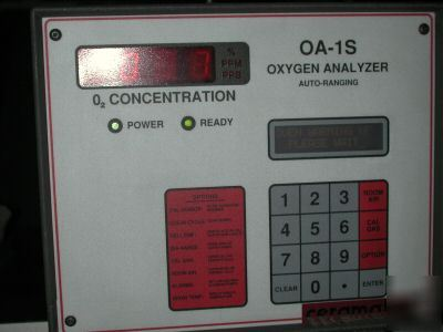 Ceramatec oa-1S O2 analyzer ppt in inert gas
