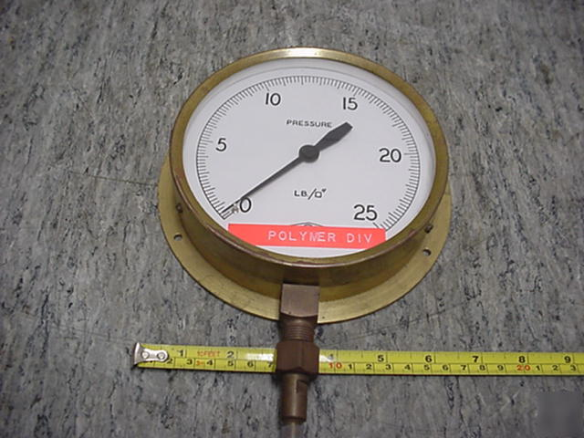 Floyd pressure guage 0 to 25 psi