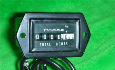 Hobbs honeywell hour meter flight hours model# 15000