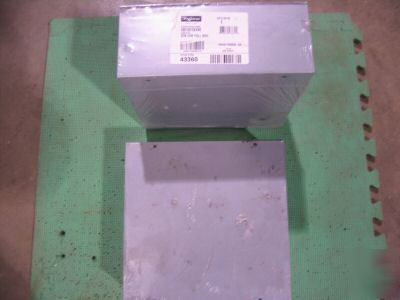 Hoffman saginaw pull box enclosure nos 2 ea 10X10X4