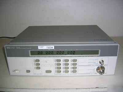 Hp 5352B microwave counter, 46GHZ with options 005/010