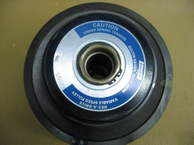 Lovejoy hex-a-drive variable speed pulley 22905 1-1/8
