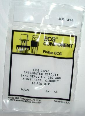 New ECG1496 NTE1496 integrated circuit x-ray surplus