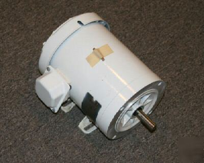 New ac motor. 1HP. 60 hz. 208-230/460 volts. 3 ph.