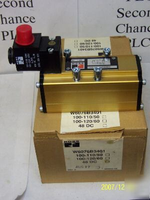 New in box ross W6076B3401 110VAC coil h-304