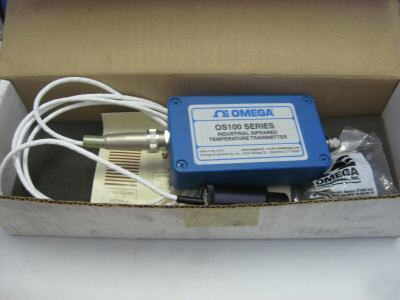 Omega industrial infrared temperature transmitter OS100