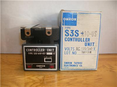 Omron S3S-A10-us S3SA10US controller unit