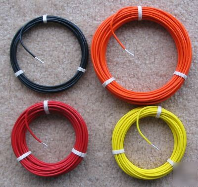 Ptfe stranded 14 ga silver plated copper wire