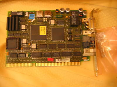 Siemens L2-dp network interface board with fiber optic