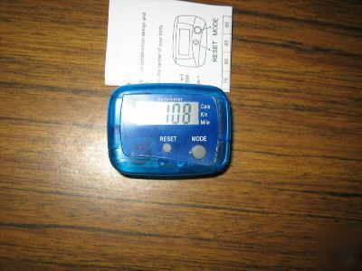Two pedometers w/step,calorie,mileage,kilometer - A2001
