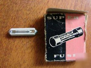 Vintage super fuses set lot of 5 sfe 14 amp