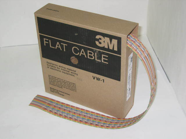 3M 50 conductor 28AWG flat ribbon cable 1700/50 QTY100'