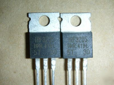 5 x IRF3205 +5 x IRF9640 power mosfet to-220 mosfet's