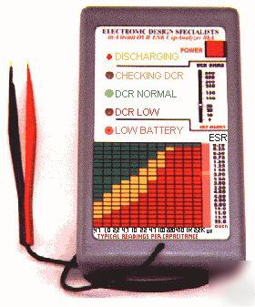 Capanalyzer 88A series ii in circuit capacitance meter