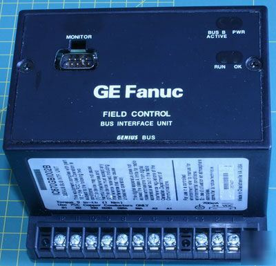 Ge fanuc field control bus interface unit IC670GB1002