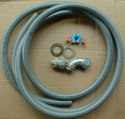 Liquid tuff armored flexible waterproof conduit cable