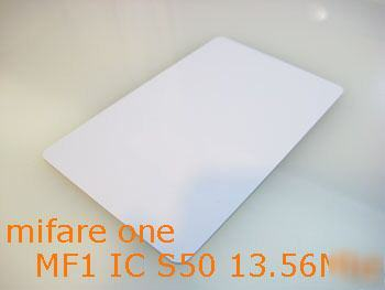 Mifare one ic S50 13.56MHZ card rfid ISO14443A philips