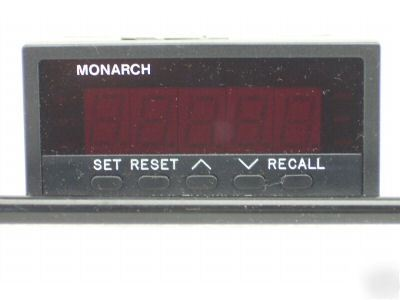 Monarch instruments act-2A, 5 digital panel tachometer