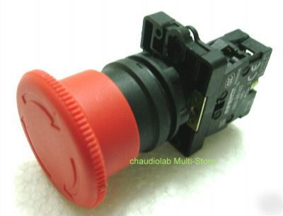 New emergency stop pushbutton switch #1109