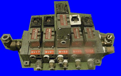 Numatics 5 valve body and electric valves