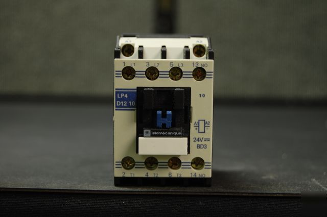Telemecanique LP4 3 phase 230/460V 20A contactor