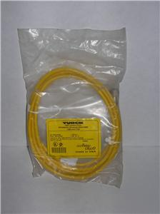 Turck KB3T2 kb 3T-2 3 wire female micro fast cable