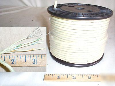 100 ft 22 awg tinned wire,4 cond,19/34 strand, mil spec