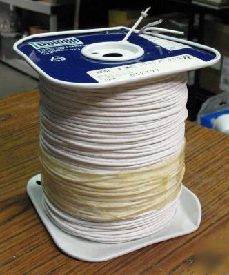 1000' of 18AWG, silver braid shield teflon coated cable