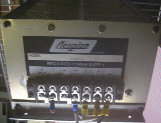 Acopian power supply A241H1500 high performance 24VAC