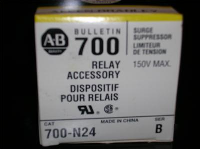 Allen bradley 700-N2 700N24 surge suppressor