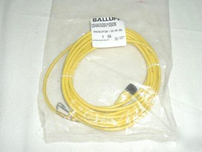 Balluff micro dc M12 single ended cord set