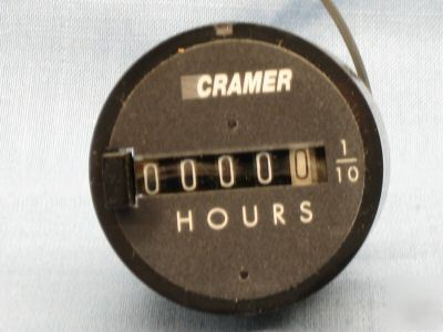 Cramer ac voltage hour meter 6X141 636X