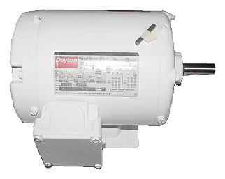 dayton 1 3 hp electric motor 208 230 460v 3 ph 100769