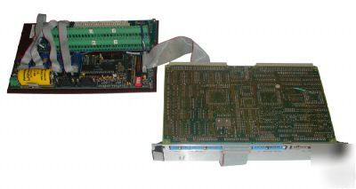 Delta tau pmac vme board with cpu-gull and assorted