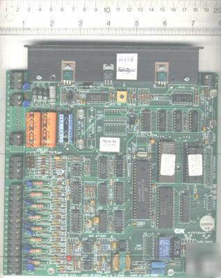 Eclipse alarm control pcb assembly by c&k systems