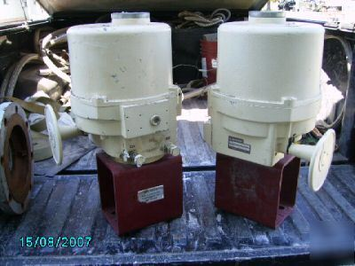 Explosion proof electric actuator elomatic actuator