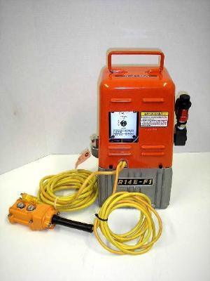 Huskie 10,000 psi portable electric hydraulic pump ln