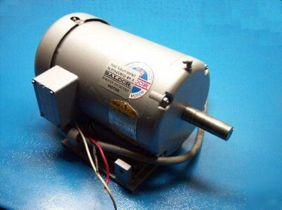 Like new 5 hp baldor electric motor (M3615T) condition