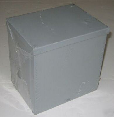 New b-line type 3R screw cover enclosure 8X8X6 painted